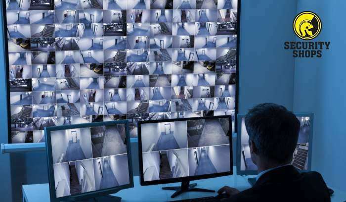 Networking Video Recorder conectado a sistema de cámaras de seguridad